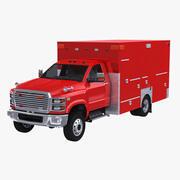 Ambulanza degli Stati Uniti 3d model