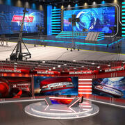 NEWS Tv Studios Collection 3d model