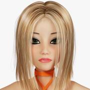 Maya Latino Dancer Character 3d model