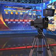 电视天气预报工作室 3d model
