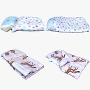 Clothes Collection 04 Bedclothes 3d model