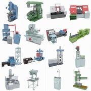 Verzameling van werktuigmachines 3d model