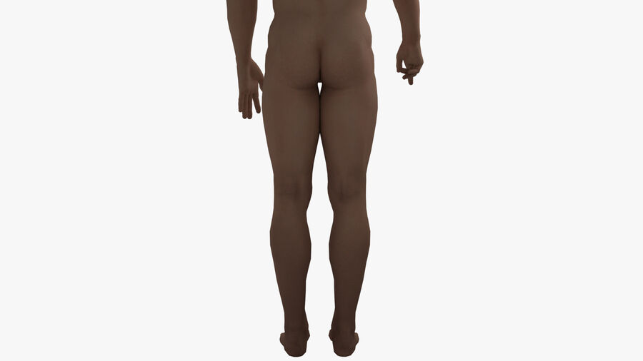 Bill Nude Man royalty-free 3d model - Preview no. 35