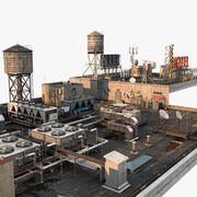 Rooftop Collections 3d model
