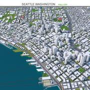 Seattle City em Washington 3d model
