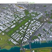Вашингтон, округ Колумбия 3d model