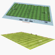 Soccer Field Collection 3d model