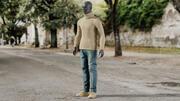 Herr- och damklädsamling 3d model