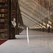 Neoklassische Bibliothek 3d model