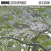 Brno Tschechische Republik 3d model
