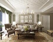 luxury home interior 3d model