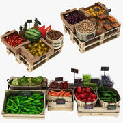 Fruit Display Collection 2 3d model