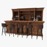 Bar vintage 3d model