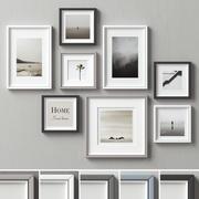 Picture Frames Set -136 3d model
