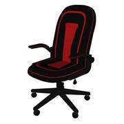 Cadeira de escritório Cadeira de jogos 3d model