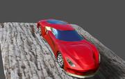 スーパーカー 3d model