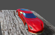 super samochód 3d model