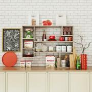 Kitchen appliances collection 3d model