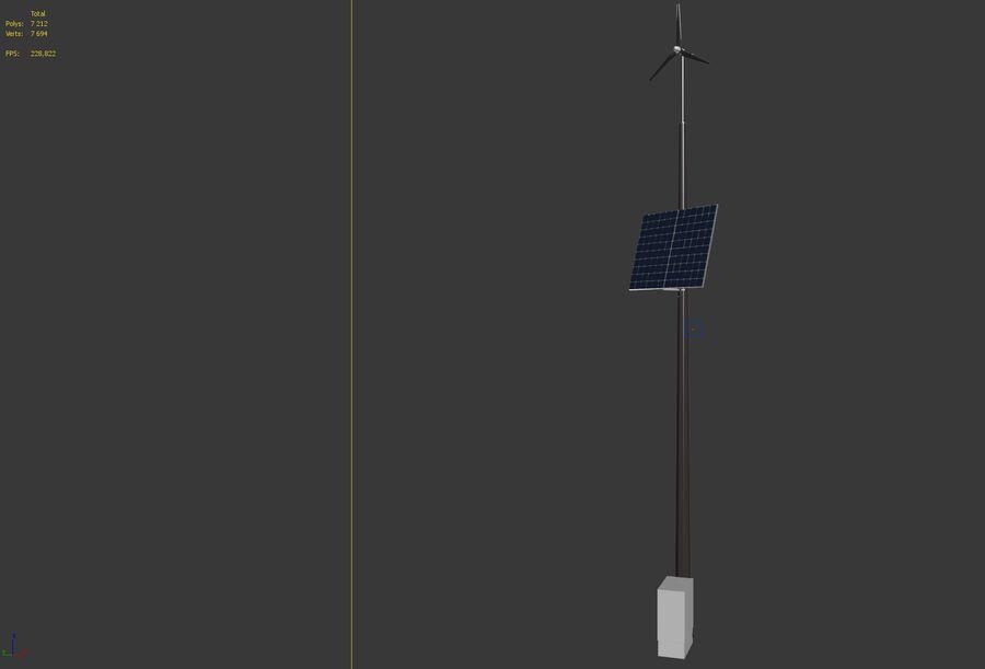 Generador de viento y sol royalty-free modelo 3d - Preview no. 5
