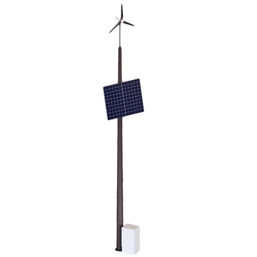 Generador de viento y sol royalty-free modelo 3d - Preview no. 2