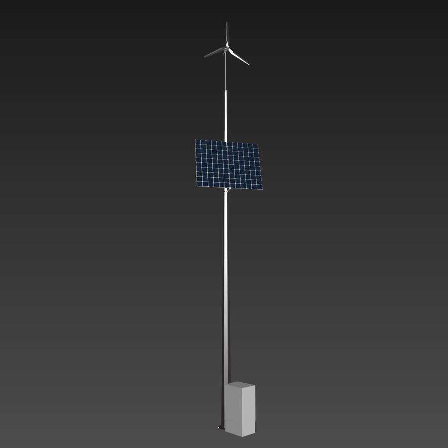 Generador de viento y sol royalty-free modelo 3d - Preview no. 6