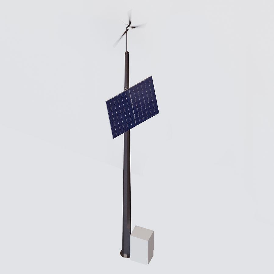 Generador de viento y sol royalty-free modelo 3d - Preview no. 1