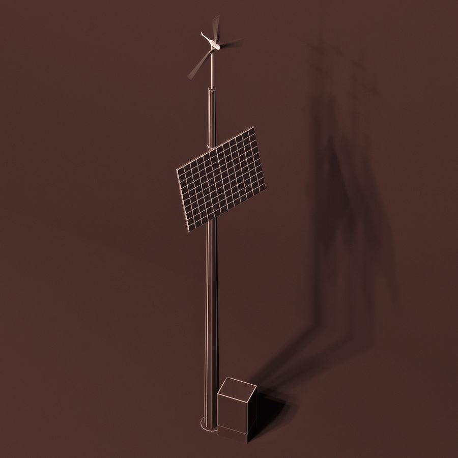 Generador de viento y sol royalty-free modelo 3d - Preview no. 3