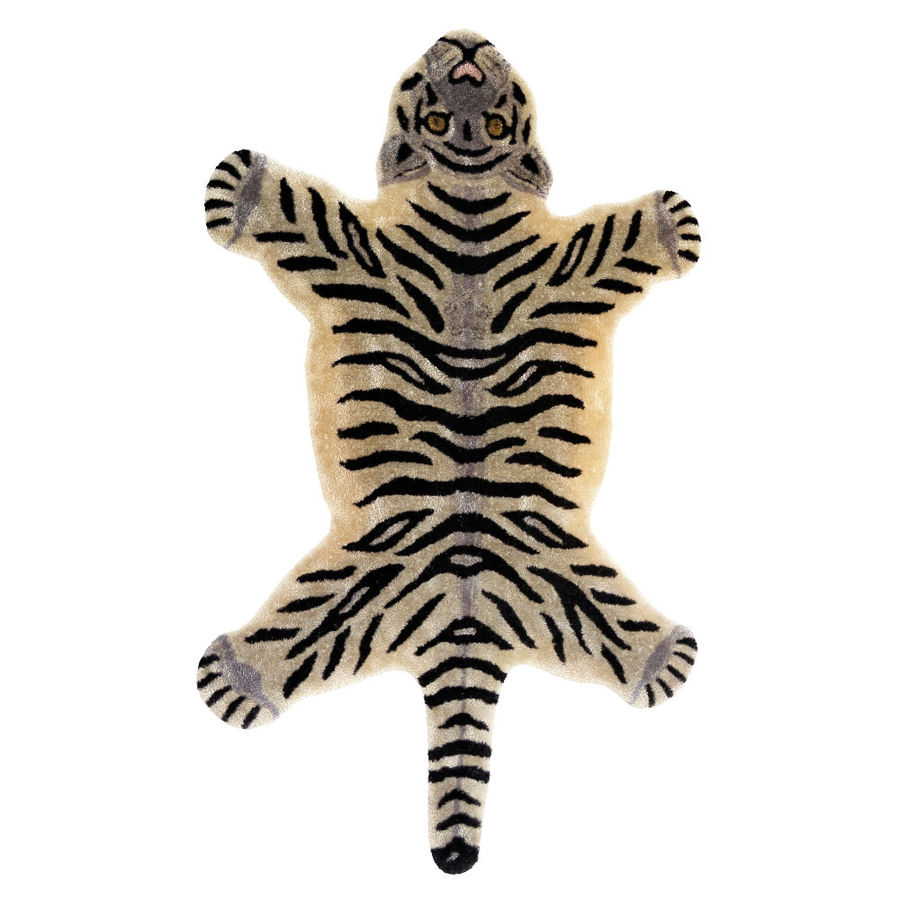 Bengal Tiger Rug royalty-free 3d model - Preview no. 1