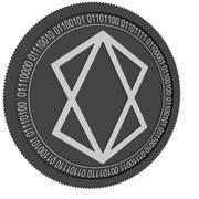 Stealth black coin 3d model