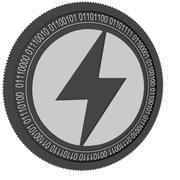 Storm black coin 3d model
