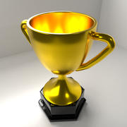 Золотой Трофей 3d model