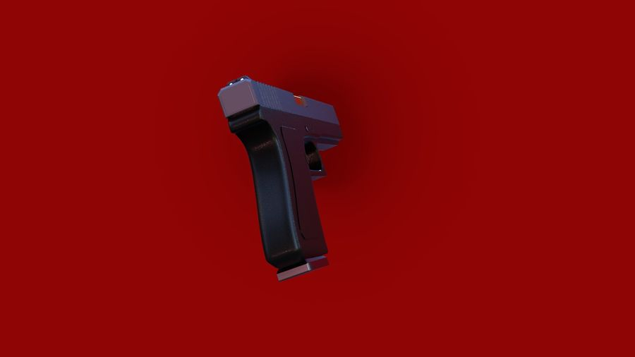 Weapon/Gun HandGun royalty-free 3d model - Preview no. 24