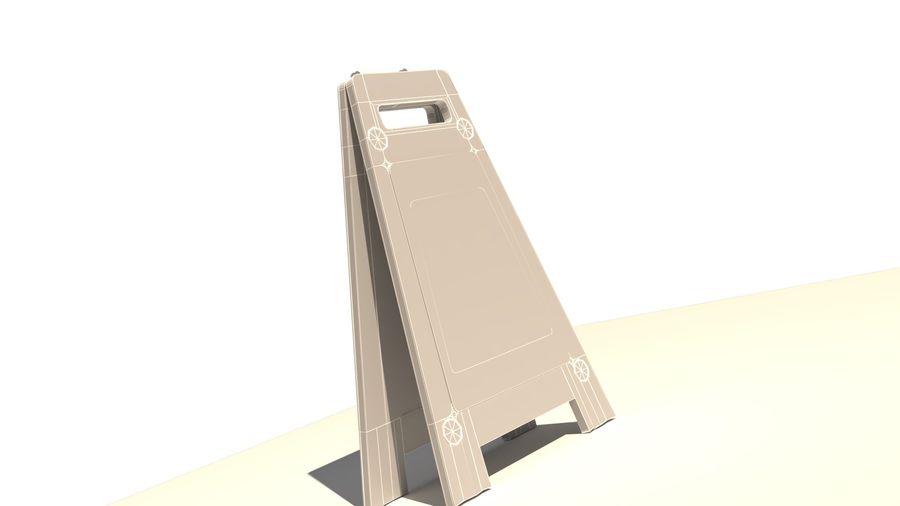 Cuidado piso molhado royalty-free 3d model - Preview no. 10