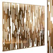 Decorative partition set 37 3d model