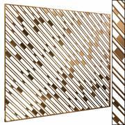 Decorative partition set 46 3d model