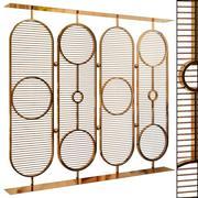 Decorative partition set 56 3d model