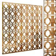 Decorative partition set 57 3d model