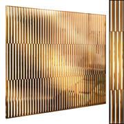 Decorative partition set 64 3d model