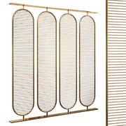 Decorative partition set 65 3d model