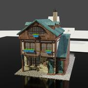 Kleines Geschäft 3d model