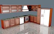 Küche 2 3d model