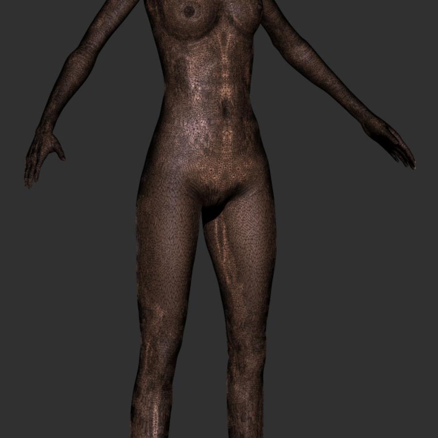 Kadın Vücut Tabanı royalty-free 3d model - Preview no. 5