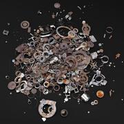 Discarica di metallo 3d model