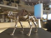 骆驼雕像 3d model