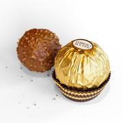 Ferrero Rocher with Package 3d model