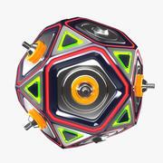 Glow Ball v.2 3d model