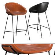 리 바 및 카운터 의자 3d model