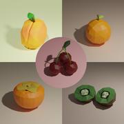 低聚水果包1 3d model