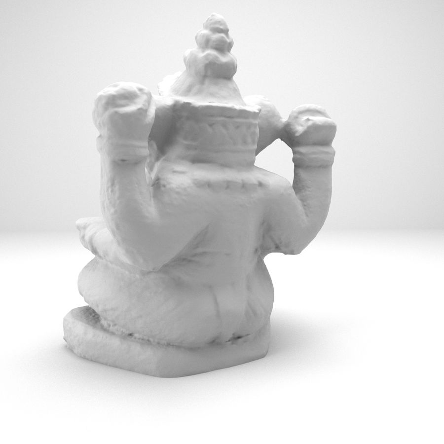 Ganesh royalty-free 3d model - Preview no. 6