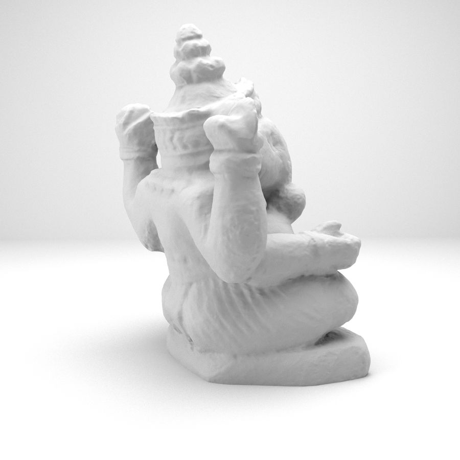 Ganesh royalty-free 3d model - Preview no. 5